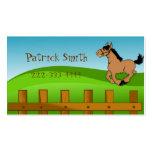 Cartoon Horse Play Date Card