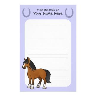 Cartoon Horse Stationery