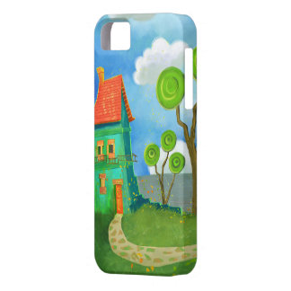 cartoon house casemate iPhone 5 covers