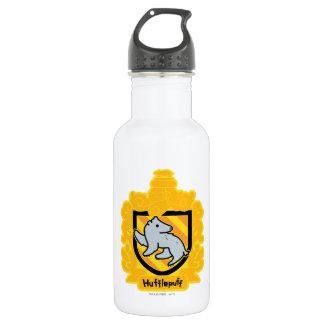 Cartoon Hufflepuff Crest 532 Ml Water Bottle