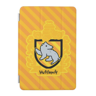 Cartoon Hufflepuff Crest iPad Mini Cover