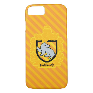 Cartoon Hufflepuff Crest iPhone 8/7 Case