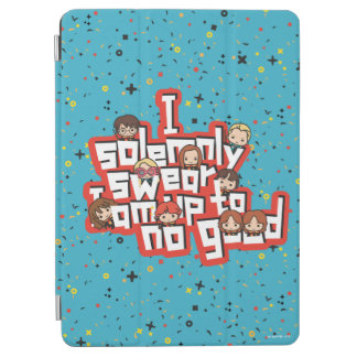 "Cartoon ""I solemnly swear"" Graphic iPad Air Cover"