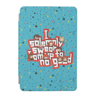 "Cartoon ""I solemnly swear"" Graphic iPad Mini Cover"