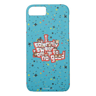 """Cartoon """"I solemnly swear"""" Graphic iPhone 8/7 Case"""