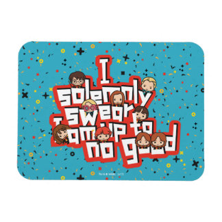 "Cartoon ""I solemnly swear"" Graphic Magnet"