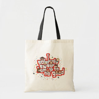 "Cartoon ""I solemnly swear"" Graphic Tote Bag"