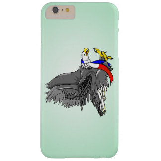Cartoon Illustration of a Bald Eagle Barely There iPhone 6 Plus Case