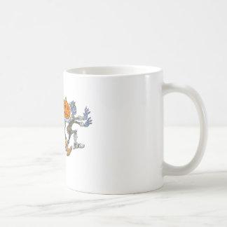 Cartoon illustration of a Halloween congo. Coffee Mug