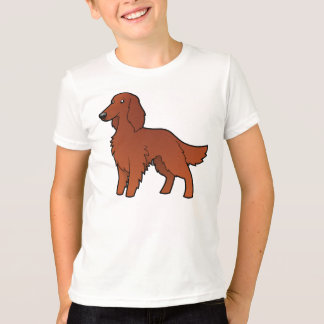 Cartoon Irish / English / Gordon / R&W Setter T-Shirt