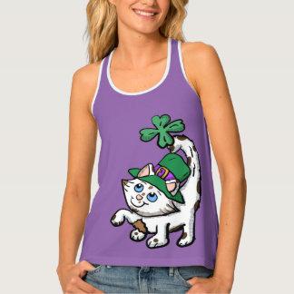 Cartoon Irish Kitten shirt