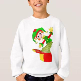 Cartoon Jack in the box cushion Sweatshirt