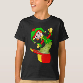 Cartoon Jack in the box cushion T-Shirt