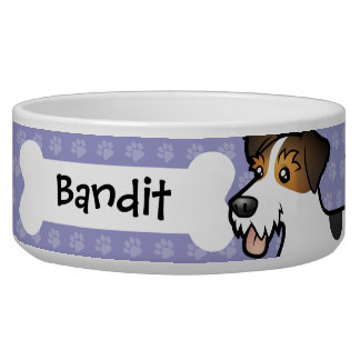 Cartoon Jack Russell Terrier
