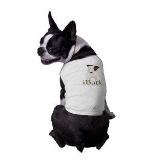 cartoon Jack Russell Terrier funny iBark dog Shirt