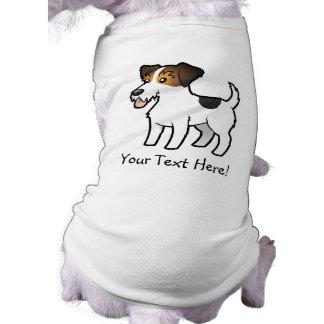 Cartoon Jack Russell Terrier Pet Tee Shirt