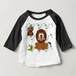 Cartoon Jungle Baby T-Shirt