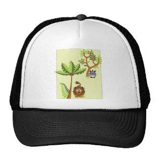 Cartoon Jungle (Lion, Zebra) Trucker Hat