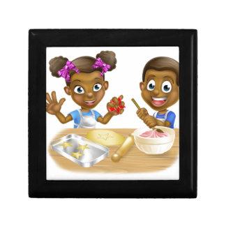 Cartoon Kid Bakers Cooking Gift Box
