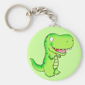 cartoon kids dinosaur T-rex Keychain
