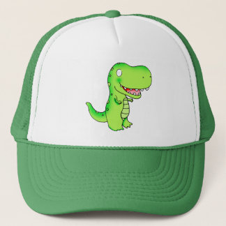 cartoon kids dinosaur T-rex Trucker Hat