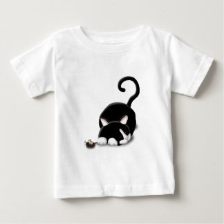 Cartoon Kitty with toy mouse Tee Shirt