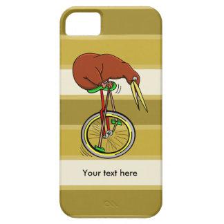 Cartoon Kiwi Bird Unicyling iPhone 5 Covers