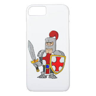 Cartoon Knight Case-Mate iPhone Case