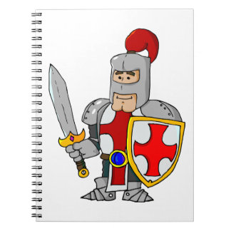 Cartoon Knight Notebook