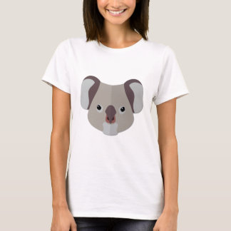 Cartoon Koala Head T-Shirt
