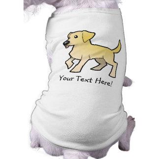 Cartoon Labrador Retriever Doggie Tshirt
