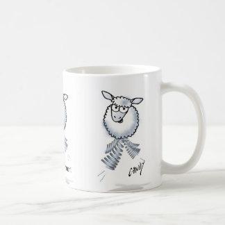 Cartoon lamb. For my sister. I love you. Coffee Mug