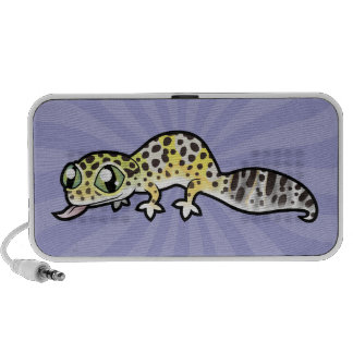 Cartoon Leopard Gecko Mini Speakers