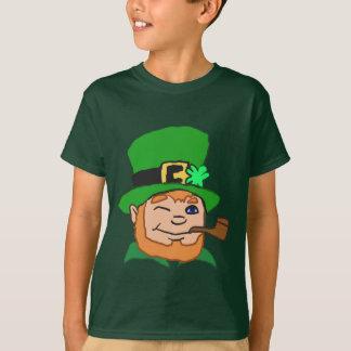 Cartoon Leprechaun T-Shirt