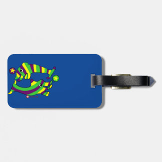Cartoon Lifesaver Dolphins Bag Tag
