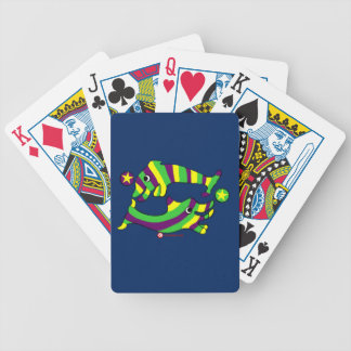Cartoon Lifesaver Dolphins Bicycle Playing Cards