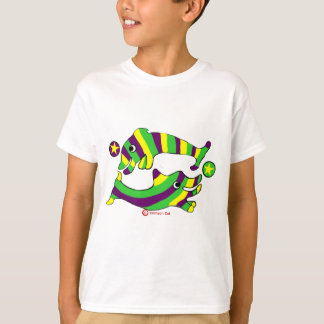 Cartoon Lifesaver Dolphins T-Shirt