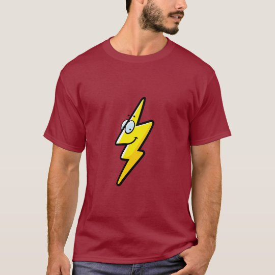 Cartoon Lightning Bolt T-Shirt