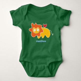 Cartoon Lion Kid Cute Fun Custom Gift T-Shirt