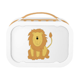 Cartoon Lion Lunch Box