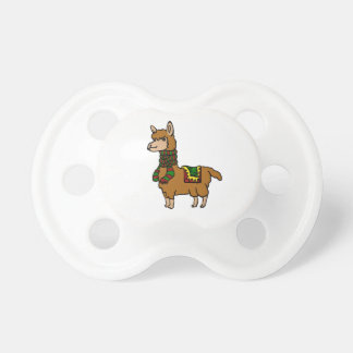 Cartoon Llama Pacifier