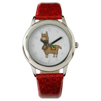 Cartoon Llama Watch