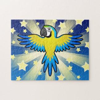 Cartoon Macaw / Parrot Puzzles