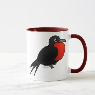 Cartoon Magnificent Frigatebird Mug