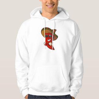 cartoon mexican pepper. hoodie