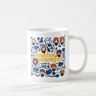 "Cartoon ""Mischief Managed"" Graphic Coffee Mug"
