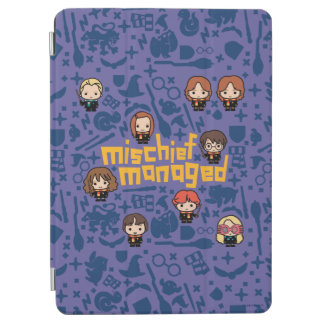 "Cartoon ""Mischief Managed"" Graphic iPad Air Cover"