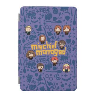 "Cartoon ""Mischief Managed"" Graphic iPad Mini Cover"