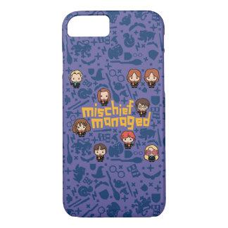 "Cartoon ""Mischief Managed"" Graphic iPhone 8/7 Case"