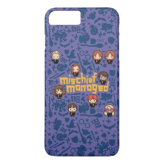 """Cartoon """"Mischief Managed"""" Graphic iPhone 8 Plus/7 Plus Case"""